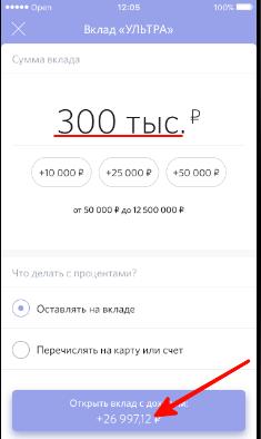 Информация о кредите